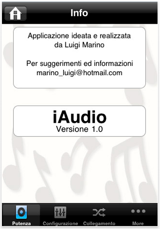 iAudio di Luigi Marino - Screenshot 03