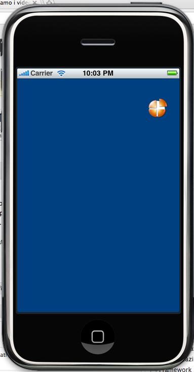 T 026 creiamo un 39 animazione di una palla con un nstimer for Window palla design