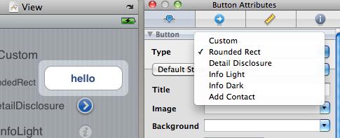 UibuttonType su Interface Builder