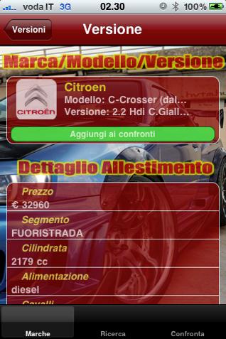 Auto nuove - Screenshot 03
