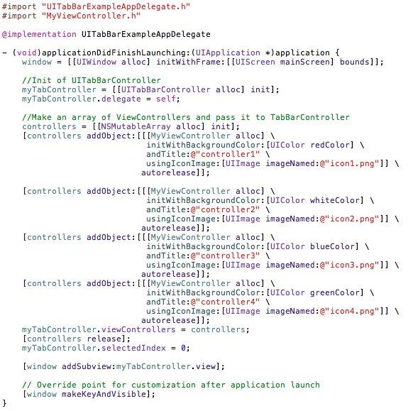 Objective-C-UITabBarController-UITextField-UIPickerView-UIDatePicker-06