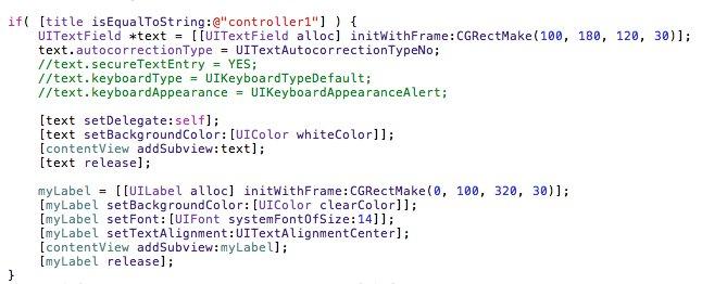 Objective-C-UITabBarController-UITextField-UIPickerView-UIDatePicker-12