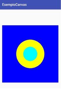 Android disegnare forme geometriche con i Canvas