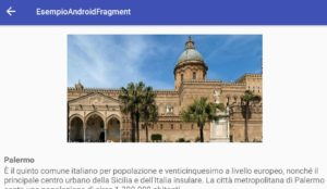 Android gestire l'interfaccia utente dell'Activity con i Fragment