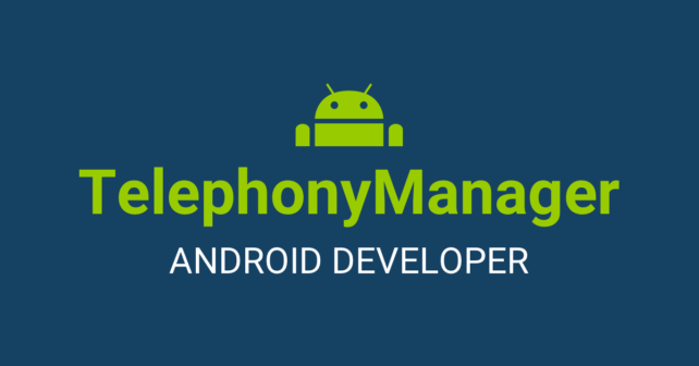 Trovare il codice IMEI del dispositivo con il TelephonyManager di Android