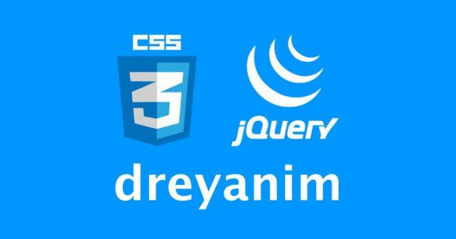 dreyanim CSS jQuery