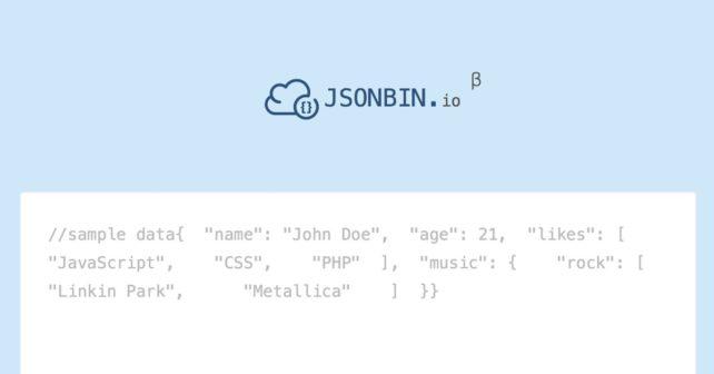 JSONbin.io